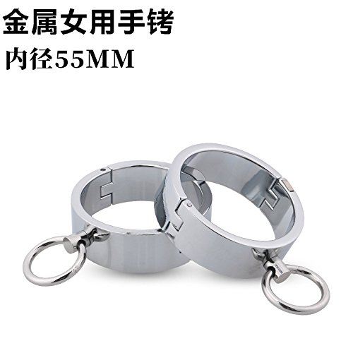 well-wreapped Jiamusi Jms Metal handcuffs fetters fetters sex handcuffs feet handcuffs adult products sex products.
