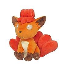 Sanei-PP22-Pokemon All Star Collection-Vulpix 7-Inch Stuffed Plush