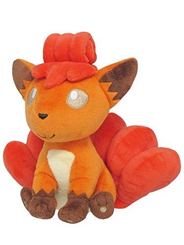 Sanei Pokemon All Star Collection Vulpix Stuffed Plush Toy, 7