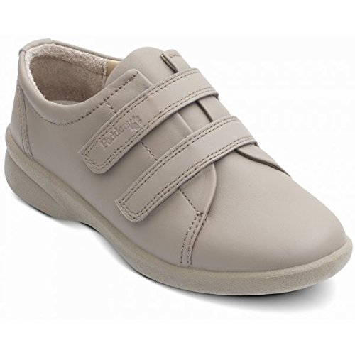 Padders Revive Damen Schnürhalbschuhe Mushroom Milled Leather