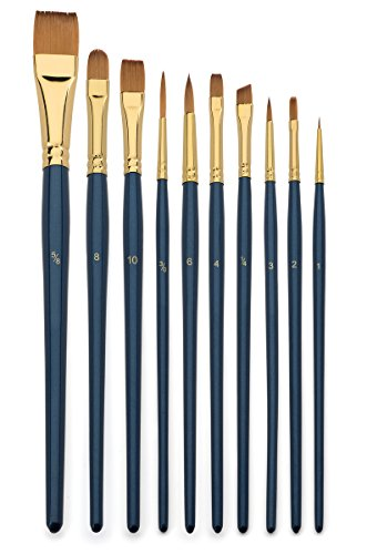 Art Brush Set Watercolor And Acrylic Artist Paint Brushes