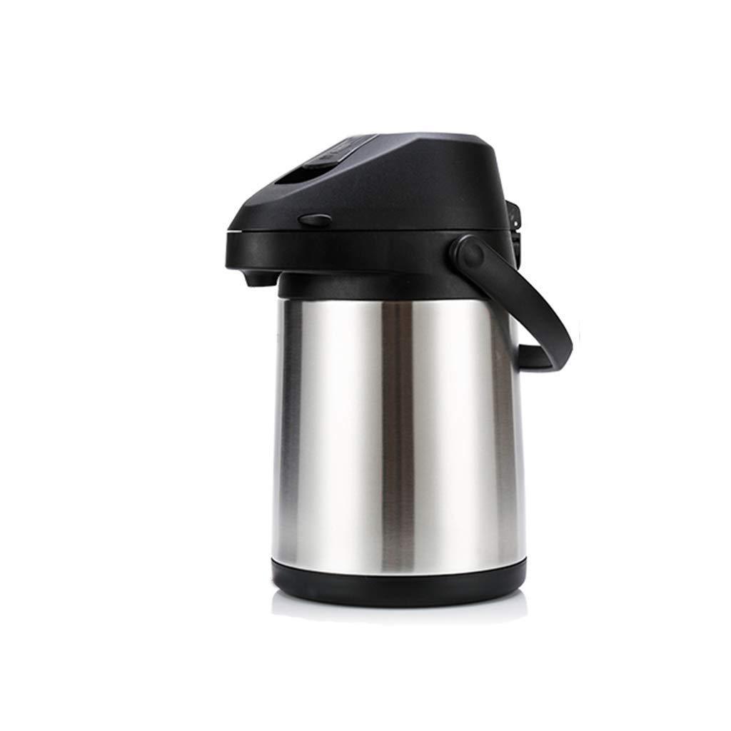 ステンレススチールサーマルコーヒーカラフステンレススチール-ヘビーデューティ24時間保温大容量レバーアクションウォーター&飲料ディスペンサー  2.5L