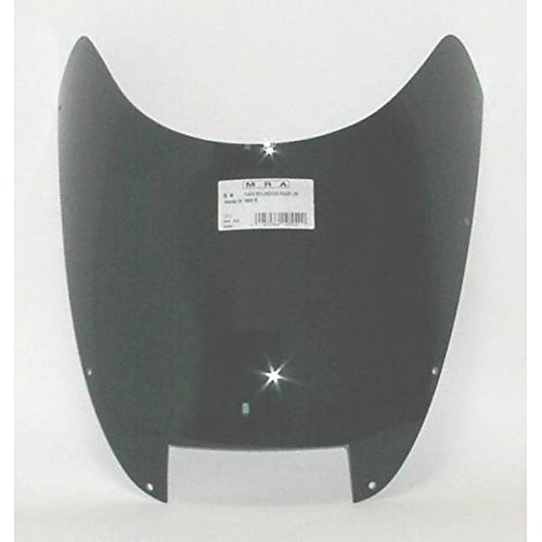 Windshield Mra Spoilerscreen (MRA SpoilerScreen Windshield for Honda VF1000R (all years) (SMOKE GRAY))