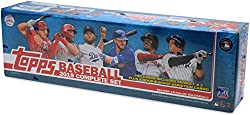 The most comprehensive set in all of Baseball, 2019 Topps Baseball Complete Sets contain base cards #1-700 from Series 1 and Series 2. The Retail Edition Complete Set also contains a five-card pack of photo variation Rookie Cards of this year's most ...