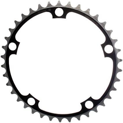 ORIGIN8 SINGLE SPEED 110//130mm 5-BOLT 38T BLACK ALLOY BICYCLE CHAINRING