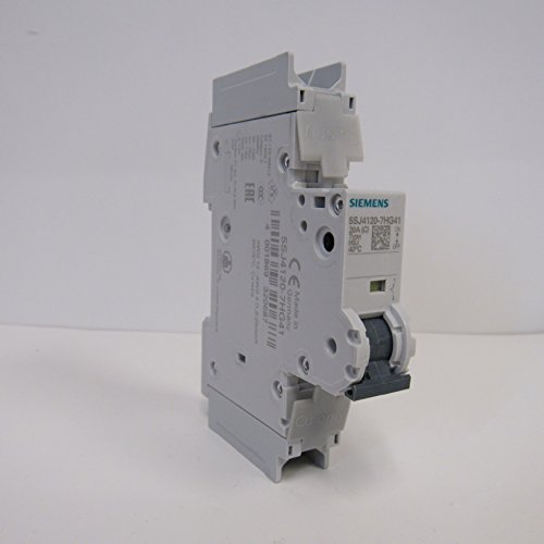 Siemens 5SJ4120-7HG41 120/240V 20 Amp 1 Pole Mini Circuit Breaker by Siemens