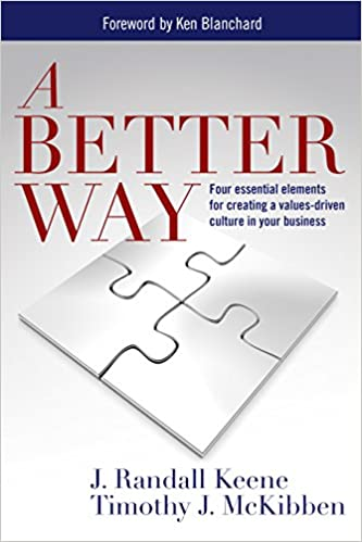 Read A Better Way: Four essential elements for creating a values-driven culture in your business PDF, azw (Kindle)