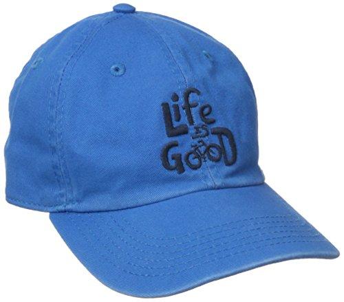 Life is good Kids Chill LIG Bicycle Cap, Marina Blue, (Bike Chill Cap)