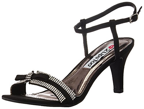 Heel 13 Women Endless Too 2 Shoes Black Lips FSqw8fag