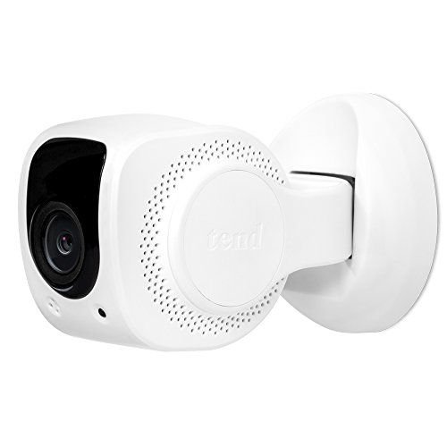 Tend Insights Lynx Indoor 1080p HD Security Camera - Home Surveillance Monitor w/Facial Recognition, WiFi, Night Vision