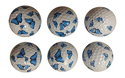 Butterfly Golf Balls (6 Pack)
