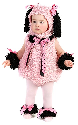 Pinkie Poodle Toddler And Baby Costumes (Pinkie Poodle Baby Infant Costume - Baby 18-24)