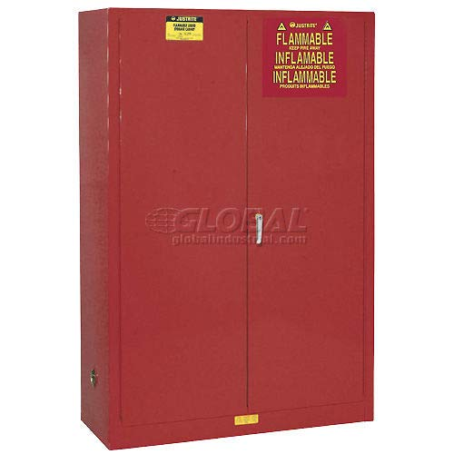 Paint & Ink Cabinet With Manual Close Double Door 60 Gallon (894511)