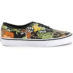 Vans Kids Disney Black Skate Shoe - 3 M US Little Kid