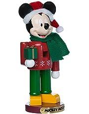 Mickey w/Present Nutcracker