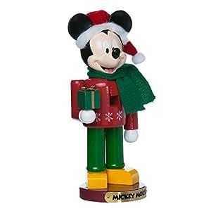 "Kurt Adler DN6171L 10"" Mickey Mouse Nutcracker"