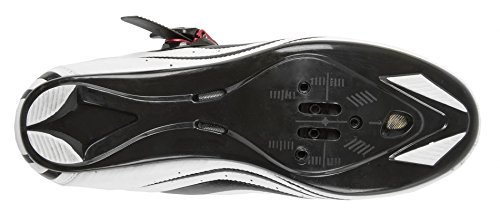 Men's Road Cycling Racing Road Weiss Shoes Black Size 41 Hg6qwrHf