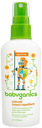 Babyganics Natural Insect Repellent, 2 oz, Packaging May Vary