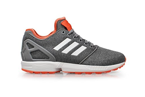 adidas Womens - ZX Flux NPS 2.0 - Grey White Red - B34008