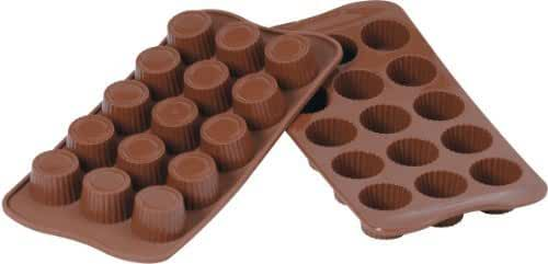 Silikomart Silicone Easy Chocolate Mold, Praline by Silikomart