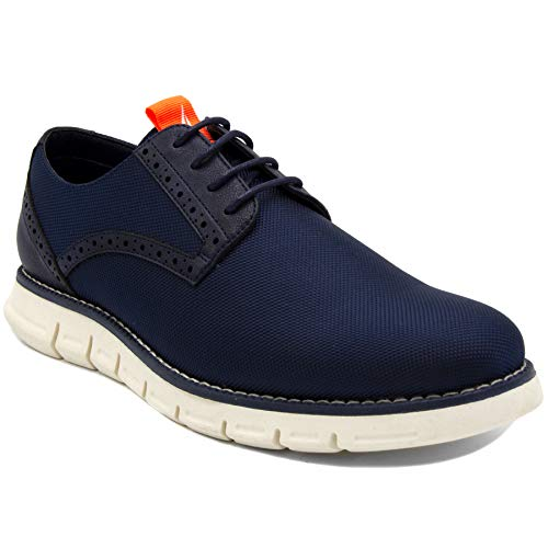 Nautica Men's Oxford Shoe Fashion Sneaker-Palmetto-Navy Nylon-12