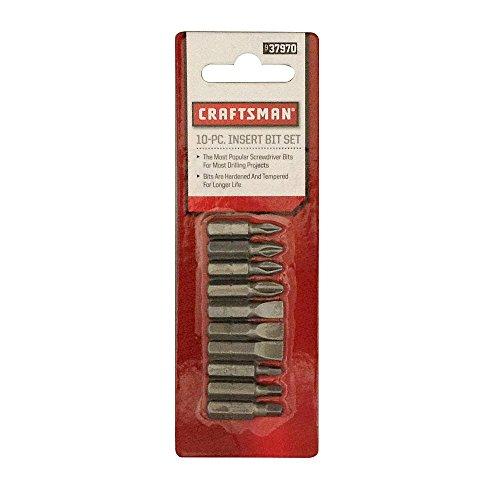 Craftsman 9-37970 Insert Bit Set, 10 Piece