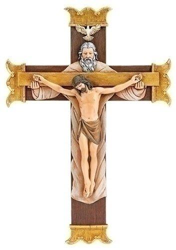 Crucifix Trinity - Joseph's Studio by Roman Joseph's Studio Wall Crucifix