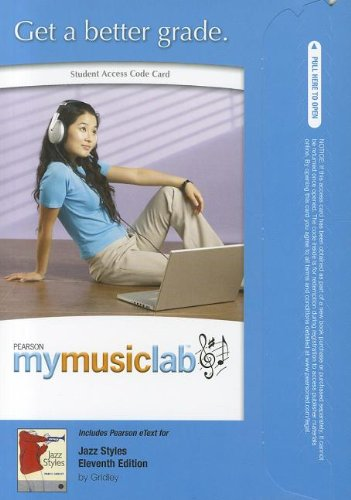 MyLab Music with Pearson eText -- Standalone Access Card -- for Jazz Styles (MyMusicLab (Access Codes))