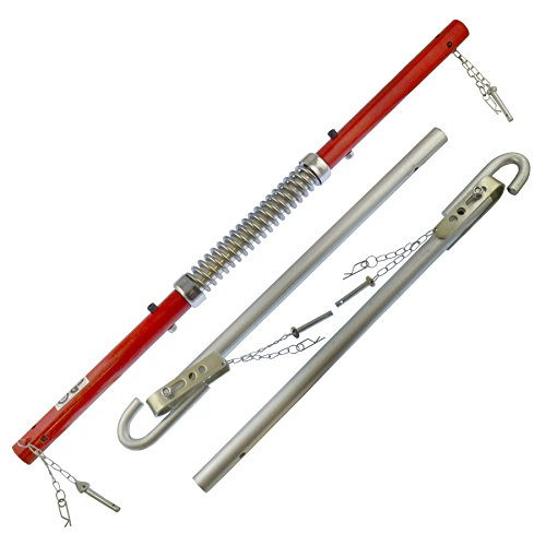 AB Tools-Toolzone 2000kg (2 Ton) Recovery Tow Ball Towing Bar Spring Damper Pole Stabilizer TE182
