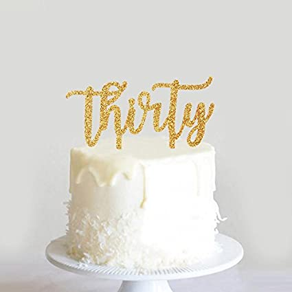 Karoo Jan Thirty Cake Topper