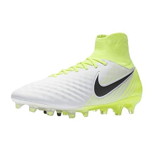 Nike Herren Magista Orden II FG Fußballschuhe WHITE/BLACK-VOLT-PUR