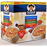 『並行輸入品』クェーカー インスタントオートミール・フレーバーバラエティー 52パック入り Quaker Instant Oatmeal Flavor Variety