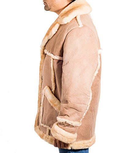 Sheepskin To Luxurious Z Coat Mens Fur Winter A New Leather Long xY7dpnwXq