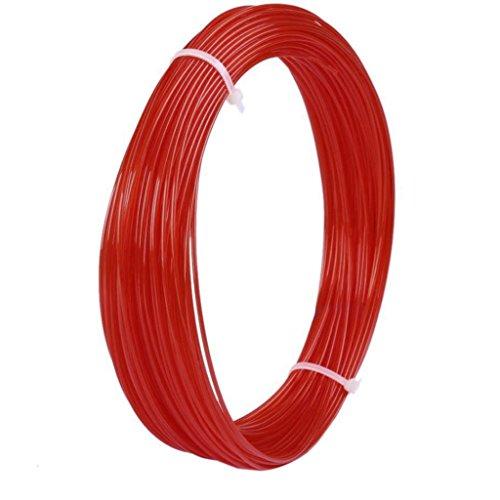 10m ABS Imprimante 3D Filament de 1,75 Mm Pour Imprimante 3D Stylo Griffonnage – Rouge