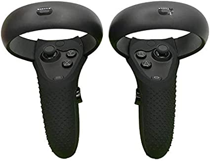 NiceCoolOculusRiftS/OculusQuestコントローラーケースカバーシリコンケース保護カバー滑り止め衝撃や傷から保護