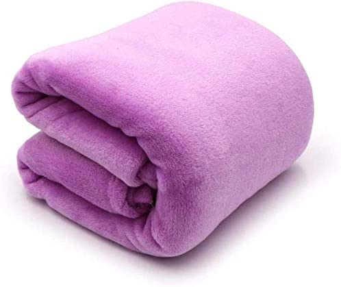 Uhkurw Blanket Soft and Warm Throw Blanket Plush Bed Couch Living Room Fleece Blanket Sofa Blanket Fleece Bedspread 130X150CM