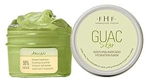 Farmhouse Fresh Guac Star Avocado Mask, 3.2 Ounce