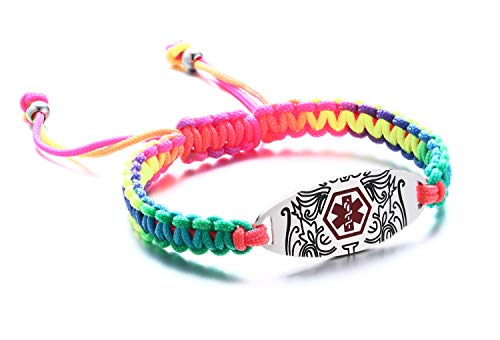Bestselling Girls Identification Bracelets