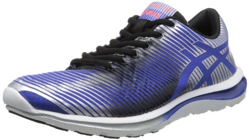 ASICS Men's GEL-Super J33 Running Shoe,Dazzling Blue/Black/Lightning,10 M US