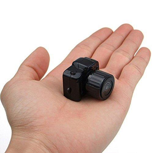 Mengshen Smallest 1080*720p Super Mini Thumb Camera Video Recorder Camcorder Webcam DVR(Black) MS-Y3000 [並行輸入品] B01KBR813Y