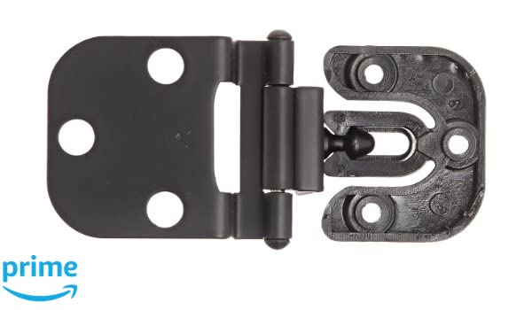 STAINLESS STEEL GHC-34//8B BOAT SUGATSUNE HALF OVERLAY GLASS DOOR HINGES PAIR 2
