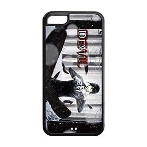 Custom Hot Anime Black Butler Sebastian Michaelis Printed Hard Plastic Back Protective Case for Iphone 5C FC-2