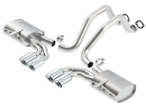 Chevrolet Corvette Borla Exhaust - Borla 140428 Cat-Back Exhaust System