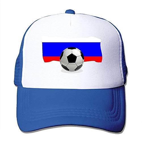 Ball Mesh with Adjustable NDJHEH Hat Flag Tone Russia Hat Gorras béisbol Trucker Soccer Two n8w7qZ0