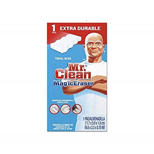 Mr. Clean - Magic Eraser Extra Power, 4 3/5 x 2 2/5'', 7/10'' Thick, White - 30/Carton