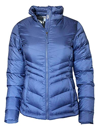 Windblock Jacket - Columbia Womens Polar Freeze Down Jacket, Blue (Medium)