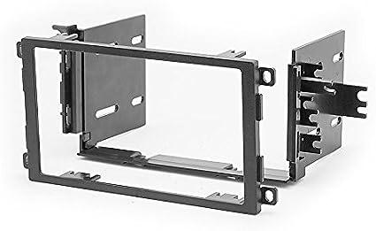 Set dinstallation autoradio CARAV/11-318-801-6/-/Montage dans le tableau de bord/-/Cache/2-DIN/-/C/âble adaptateur antenne et ISO