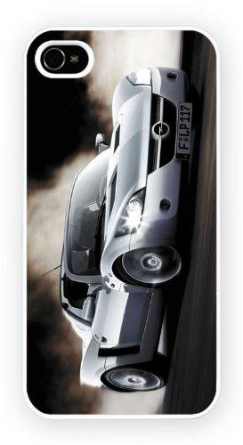 Opel Speedster Silver, iPhone 4 4S, Etui de téléphone mobile - encre brillant impression