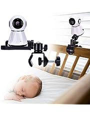 Petyoung Babycamera Monitor Mount Bracket, 360 graden draaibaar verstelbare houder flexibele camera-standaard voor wieg kinderkamer