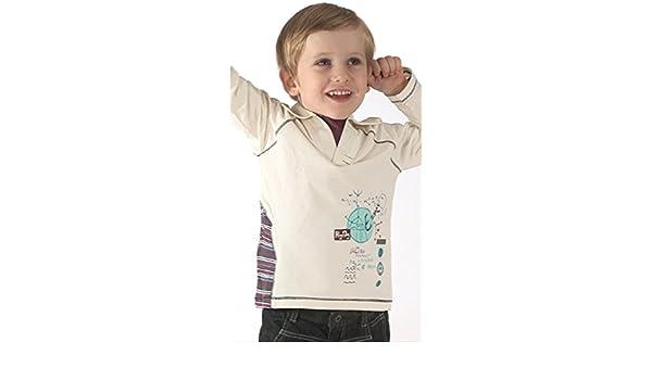Deux par Deux - Polo - para niño blanco 6 años: Amazon.es: Ropa y ...